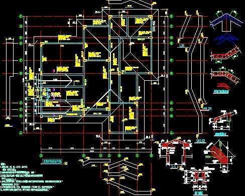 别墅结构图纸
