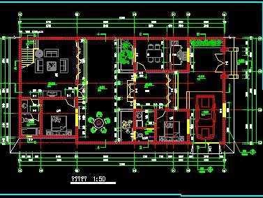 四合院建筑设计施工图纸