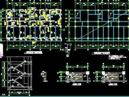 框架结构施工图免费下载 - 混凝土结构 - 土木工程网