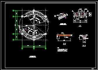 螺旋楼梯详图带计算免费下载 - 混凝土结构 - 土木