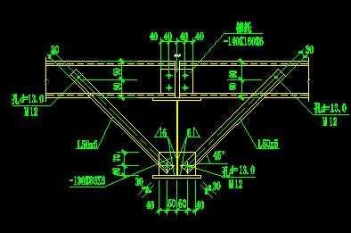 偶撑做法大样图免费下载 - 混凝土结构 - 土木工程网