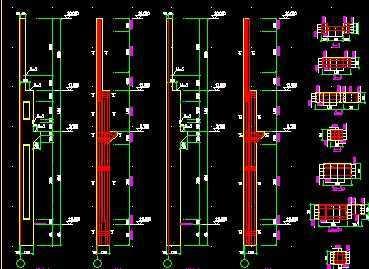 双t板屋面混凝土吊车梁厂房结构图纸