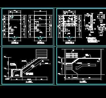 某商铺夹层结构图