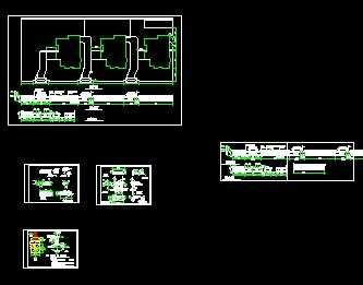 中式別墅大門圍墻設計圖