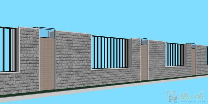 围墙设计效果图