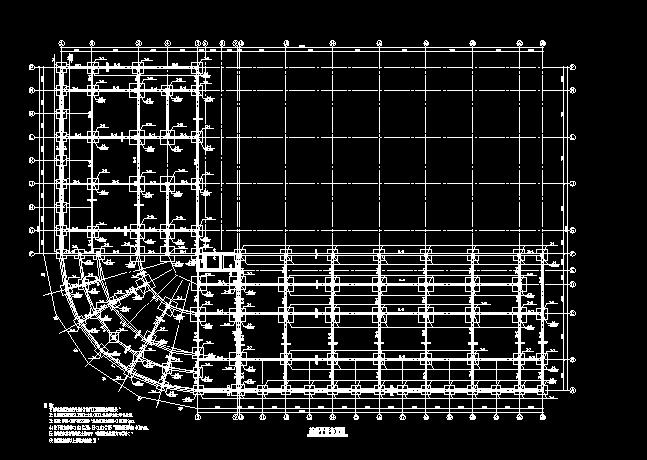 七层框架结构商贸中心设计图纸免费下载 - 混凝土结构