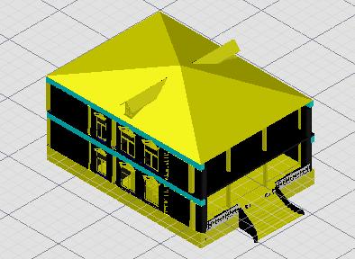 别墅三维模型