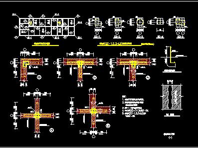 砖混构造柱设计详图