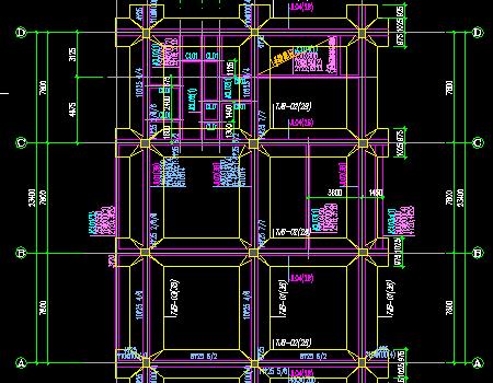 框架结构社区公建结构施工图