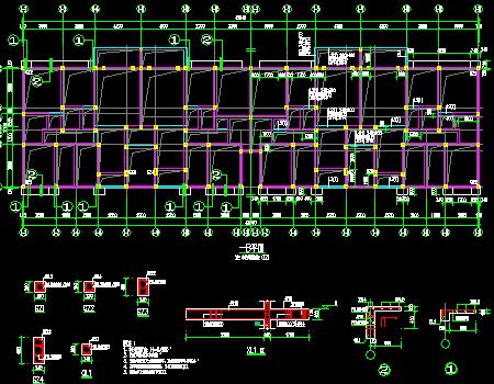 地上六层砖混结构住宅楼结构施工图