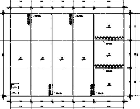 废水处理站AO组合池结构施工图