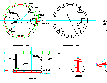 烟厂废水处理站调节池结构图