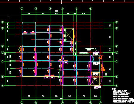地上三层框架结构音乐楼改造加固结构施工图