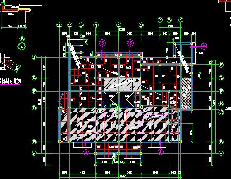 地上三层框架结构住宅楼改造加固结构施工图
