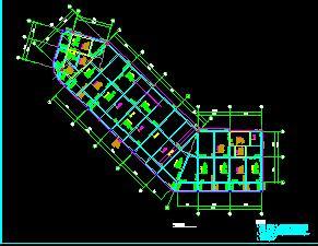 4层框架结构商业楼结构施工图纸