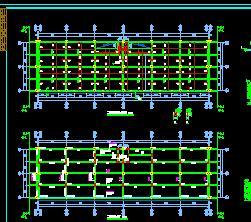 全现浇框架结构车间结构施工图纸