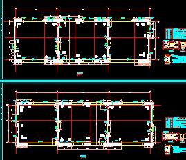 22层办公商业综合楼结构施工图纸(框剪结构)