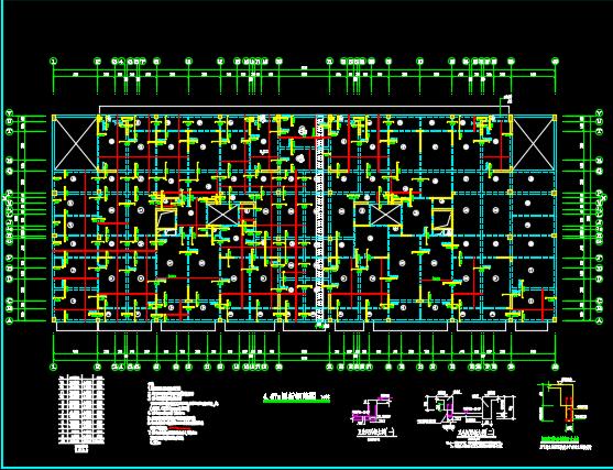 小高层住宅综合楼结构施工图纸