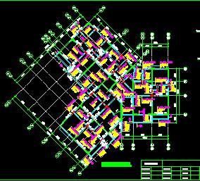 9层剪力墙结构住宅楼结构施工图纸