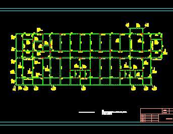 四层框架结构办公楼结构施工图纸