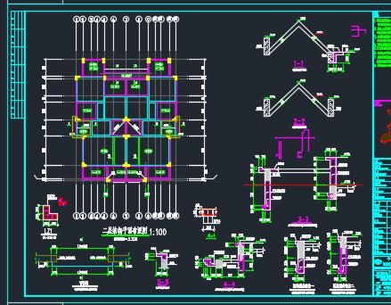 底层住宅结构施工图纸