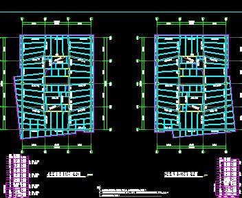 29层框筒结构综合楼结构施工图纸