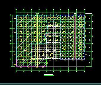 五层框架商业楼及地下车库结构施工图纸