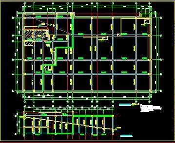 高层综合楼及住宅楼群结构施工图纸