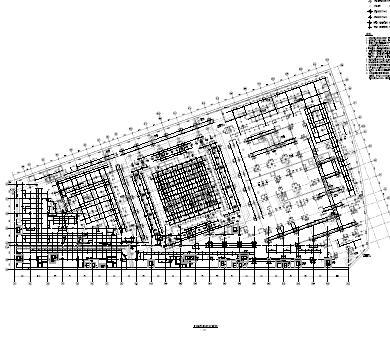 61层框筒结构办公楼塔楼结构施工图纸(pdf)