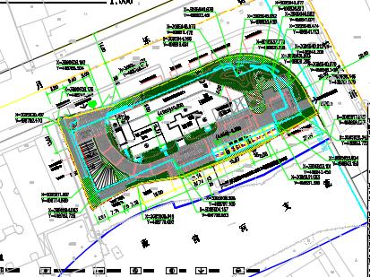 十三层办公楼建筑结构水电施工图纸