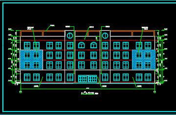 幼儿园综合楼及教学楼建筑结构施工图纸