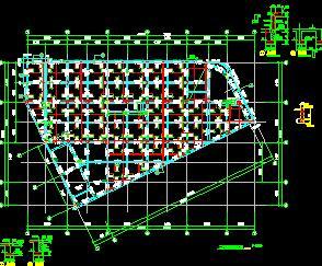 商业街7栋框架商业楼结构施工图纸