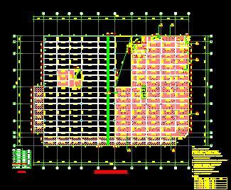 某七层物业办公楼结构施工图纸
