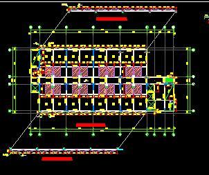 高层酒店及公寓楼混凝土结构施工图纸