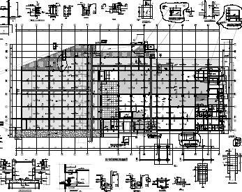 22层框剪结构住院楼结构施工图纸(pdf)