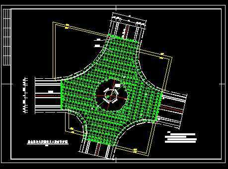 母婴交叉口竖向设计免费下载-路桥道路隧洞用品设计图片