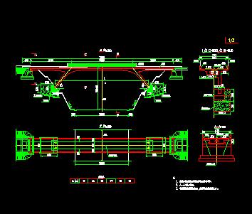 斜腿刚构20+30+20桥梁施工图免费下载 - 桥梁图纸