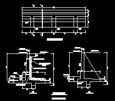 扶壁式挡墙设计详图