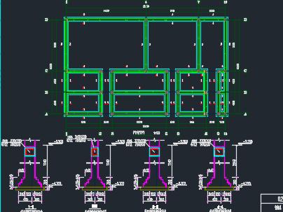 砖混厂房详细结设计图纸
