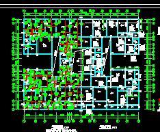 七层砌体结构商住楼结构施工图纸