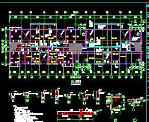 某6+1层砖混结构住宅楼结构施工图纸