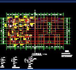 六层砖混结构廉租房住宅楼结构施工图