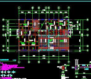 三层砖混办公住宅综合楼结构施工图纸