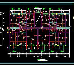 某5层砖混住宅楼结构施工图纸