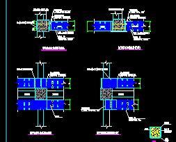 碳纤维梁柱结构加固大样图