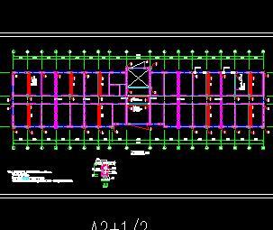四层砌体业务楼加固工程全套施工图纸(全专业)