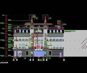 某大戏院改造加固亚博88app全套施工图纸(全专业)