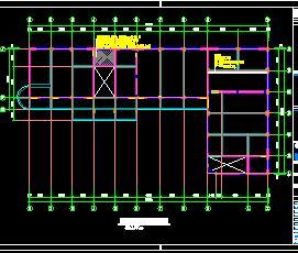 某中学宿舍楼抗震加固结构施工图纸