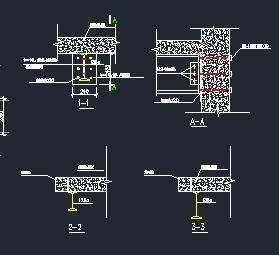 楼板开洞型钢加固节点详图