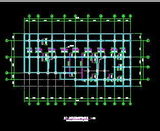 九层框架结构住宅地下室碳纤维加固施工图